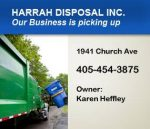 Harrah Disposal, INC